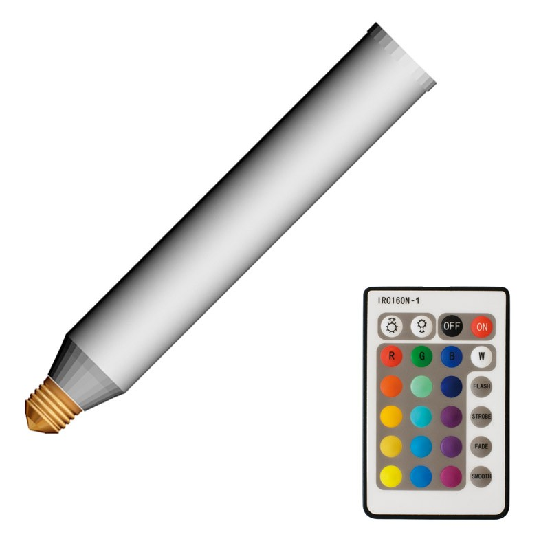 living colors cle classic led rgb leuchtmittel e27 28cm mit fernbedienung x sitze x zylinder. Black Bedroom Furniture Sets. Home Design Ideas